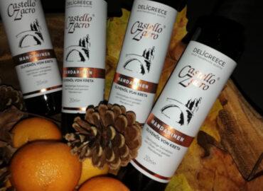 Olivenöl mit Mandarinennote aus Kreta