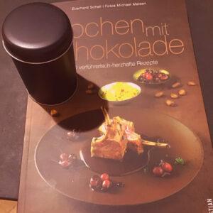 Kochbuch 'Kochen mit Schokolade', von Eberhard Schellmit-Schokolade